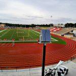 Polar Focus rigging for Dodge City Memorial Stadium
