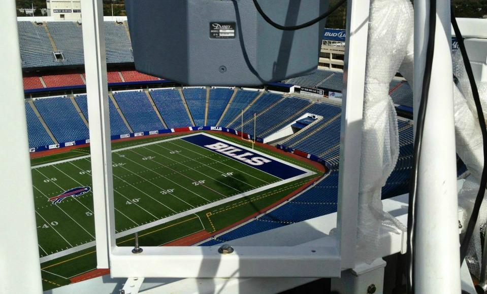 Polar Focus rigging for Buffalo Bills Stadium
