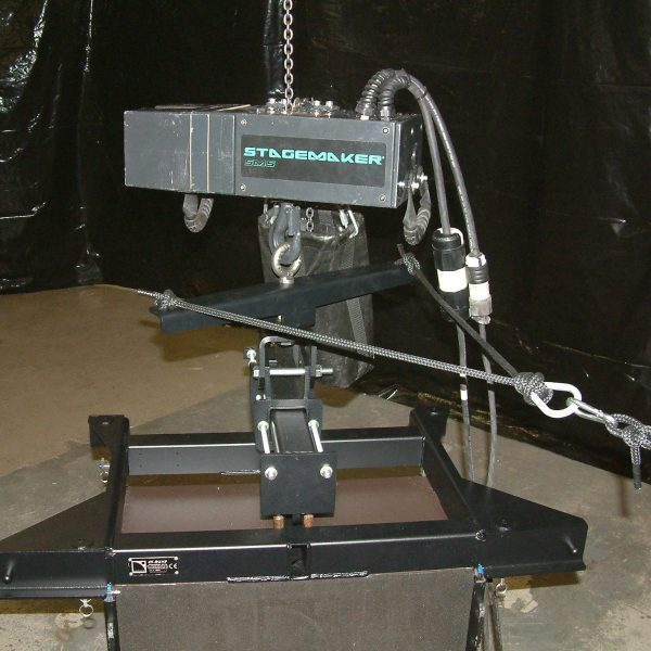 Polar Focus ZBeam Lariat - Single Hoist Aiming System For Line Arrays In Portable Applications