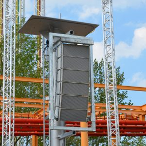 Galvanized Line Array Frame for QSC WL 2102-wx