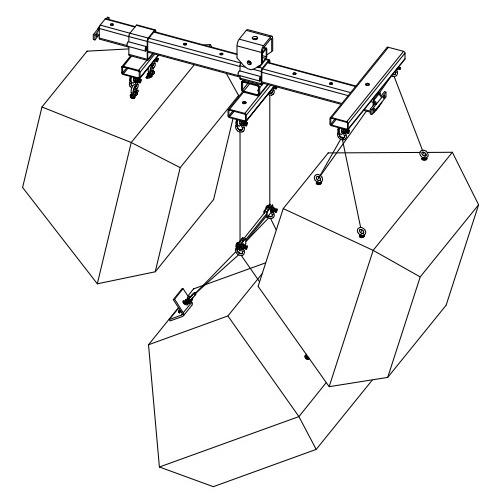 Polar Focus rigging for EAW QX