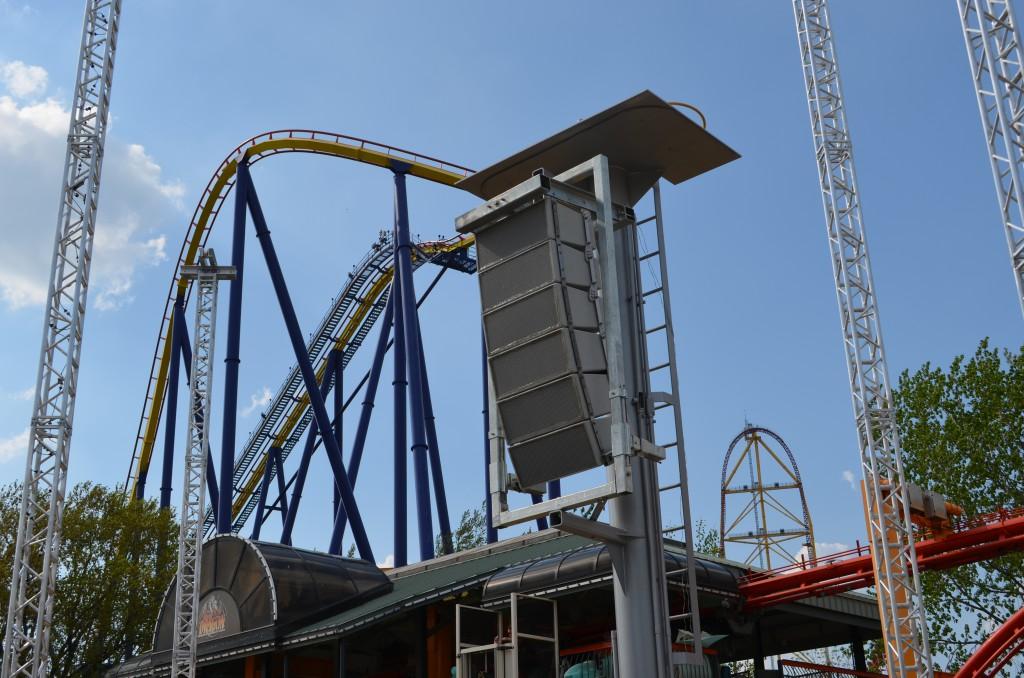 Polar Focus rigging for Cedar Point Amusement Park