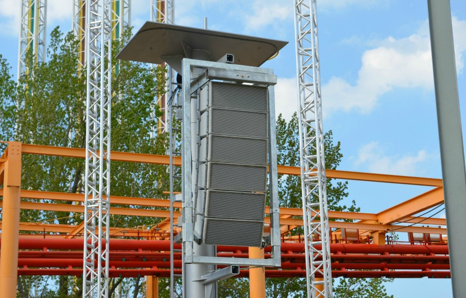 Polar Focus rigging for Cedar Point Amusement Park