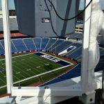 Polar Focus rigging for Danley Sound Labs at Buffalo Bills Stadium