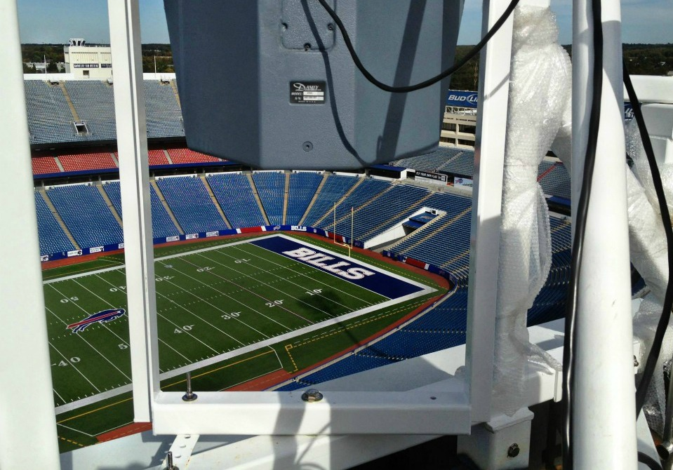 Polar Focus rigging for Buffalo Bills Stadium