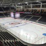 Polar Focus rigging for UNO Hockey Stadium