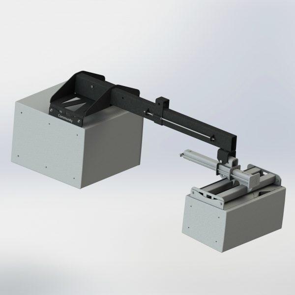 IV6-SB-AF Polar Focus Subwoofer Kit for Community Professional Loudspeakers IV6 Modules - Line Array Rigging