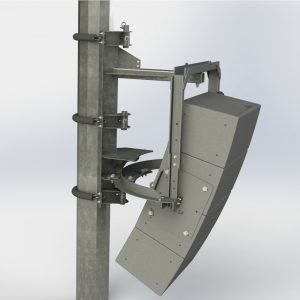 Polar Focus PM3-IV6-34 Pole Mount for Community IV6 Vertical Array ModulesPolar Focus PM3-IV6-34 Pole Mount for Community IV6 Vertical Array Modules