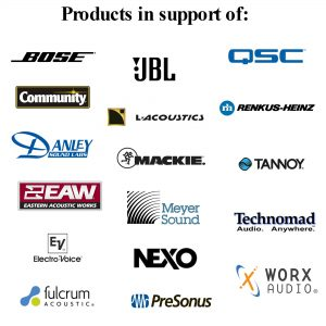 Loudspeaker Brand Or Model Specific Products