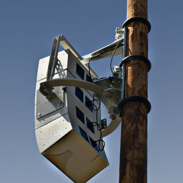 Polar Focus PM3 Pole Mount for Community Professional Loudspeakers IV6 Vertical Array Modules