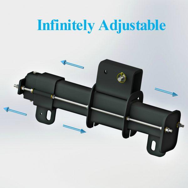 Polar Focus Spine Frame Adapter - SFA-24-3000-B