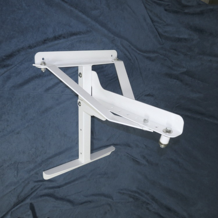 Polar Focus Wall Mount shown with Lateral Seismic Braces.