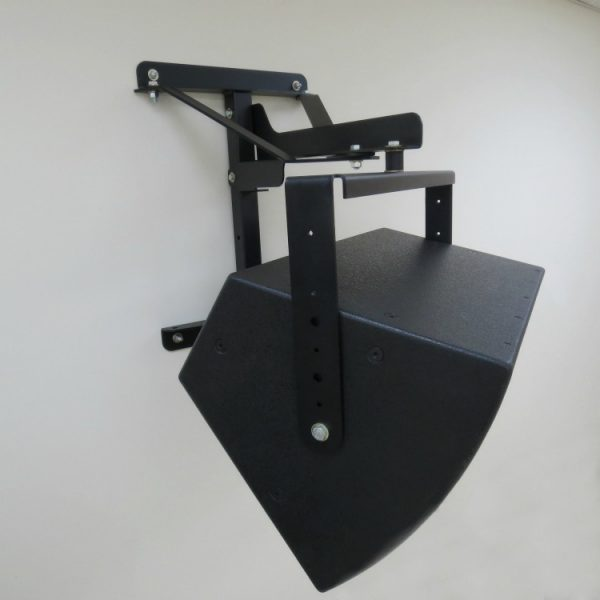 Polar Focus Loudspeaker Yoke with Wall Mount