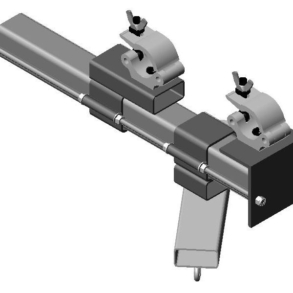 Truss Universal Bar, adjustable speaker support bar
